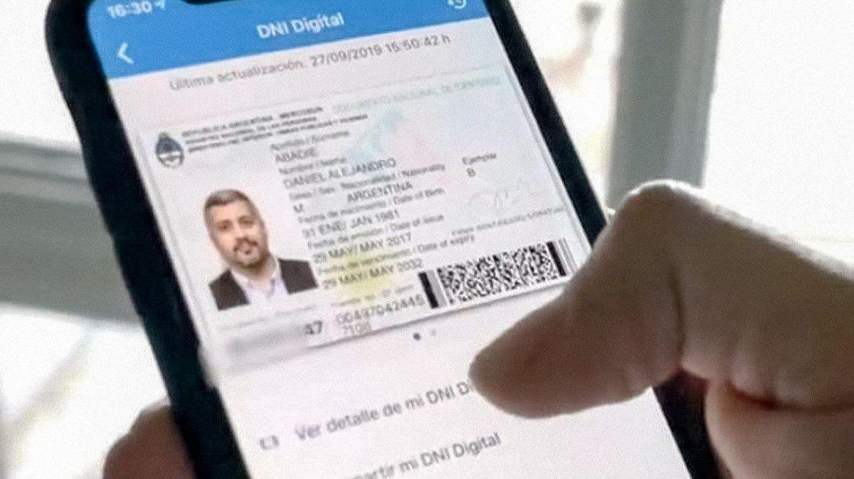 Ya podés descargar en los celulares el nuevo DNI digital