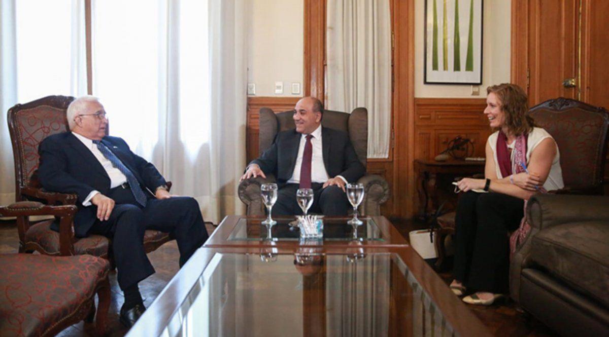 Manzur recibió al embajador de Estados Unidos