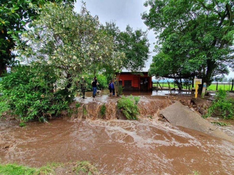 Proyecto para evitar inundaciones en el sur de Tucumán