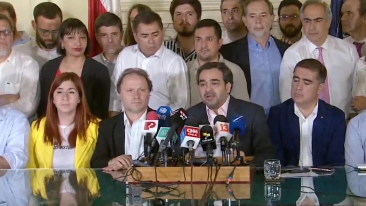 Comienza el final del gobierno de Pinochet