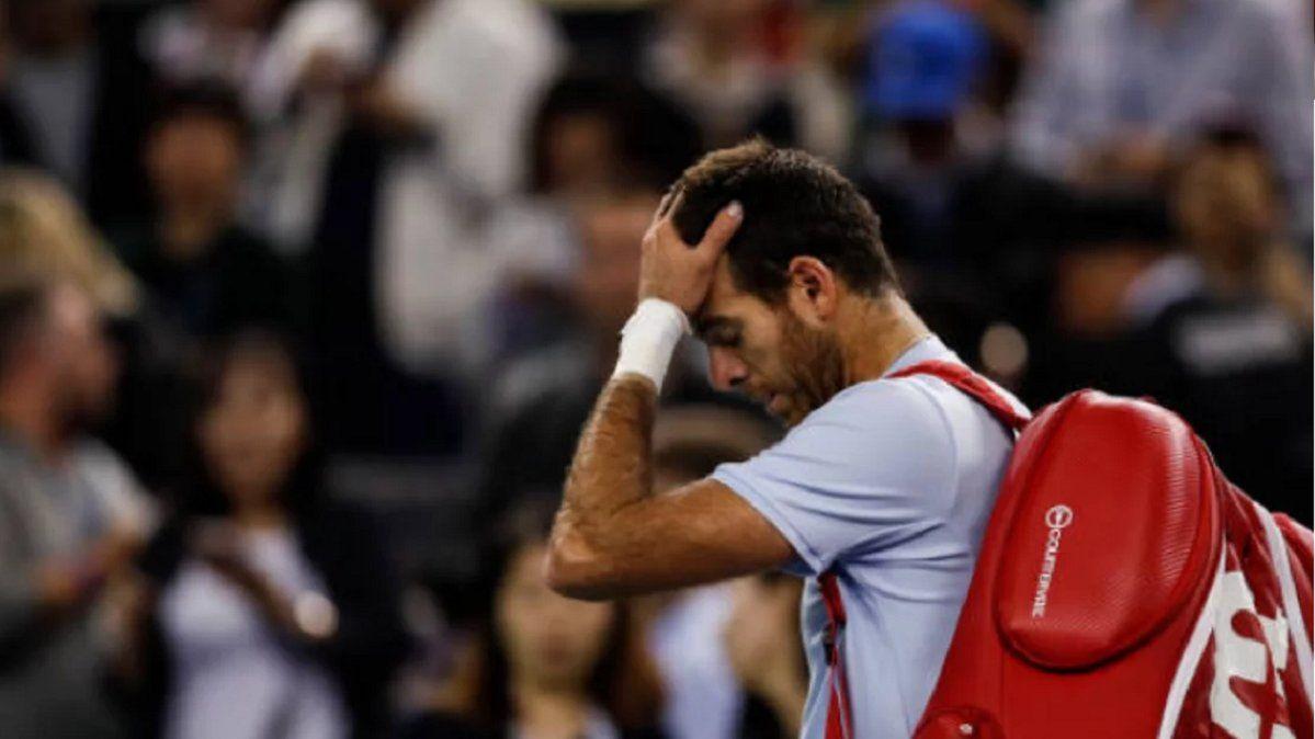Del Potro se bajó de la exhibición contra Federer