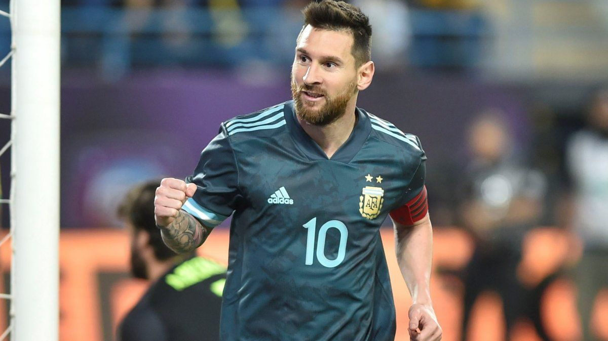 Argentina le ganó bien a Brasil con la vuelta de Messi