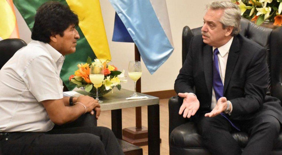 El contacto de Alberto Fernández con Evo Morales