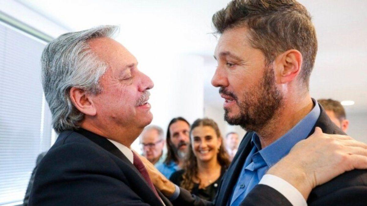 Fernández y Tinelli, juntos: va a venir un país mejor