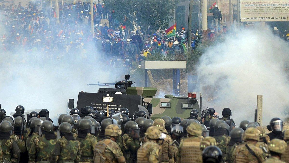 Represión en Cochabamba: al menos ocho muertos