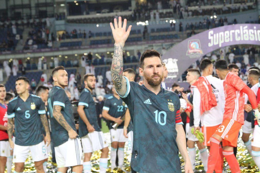 Acusaron a Messi de influir en el arbitraje ante Brasil