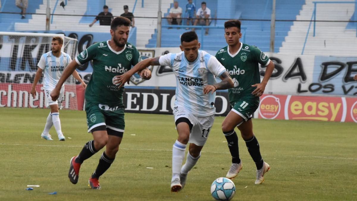 Sarmiento empató en Rafaela y San Martín puede extender la ventaja