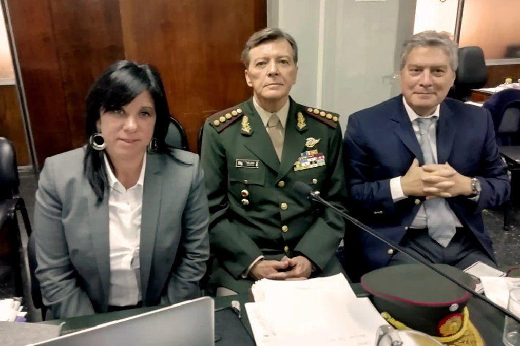 Se reanuda el juicio a Milani por la desaparición de Ledo