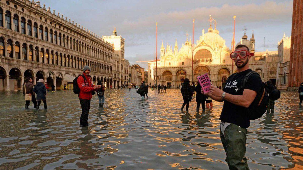 Venecia se recupera tras la peor inundación