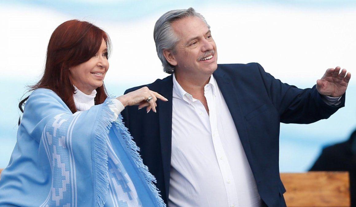 Alberto y Cristina hablaron del futuro gabinete