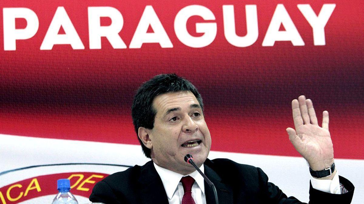 Un juez brasileño pidió la captura del ex presidente paraguayo Horacio Cartes