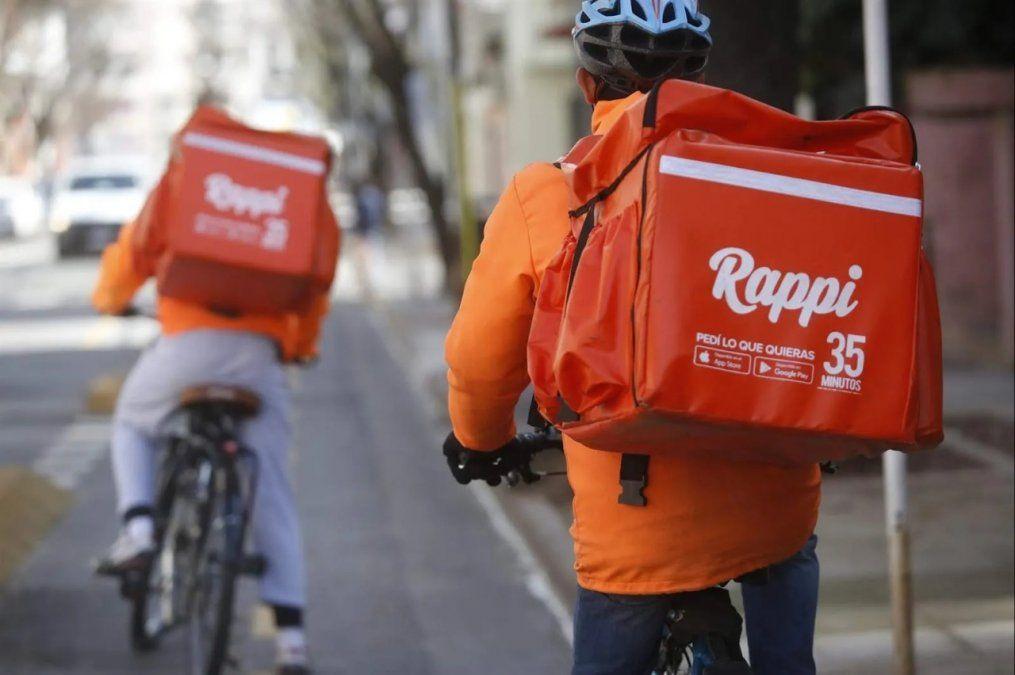 Deliverys en estado de alerta y movilización ante la llegada de Rappi