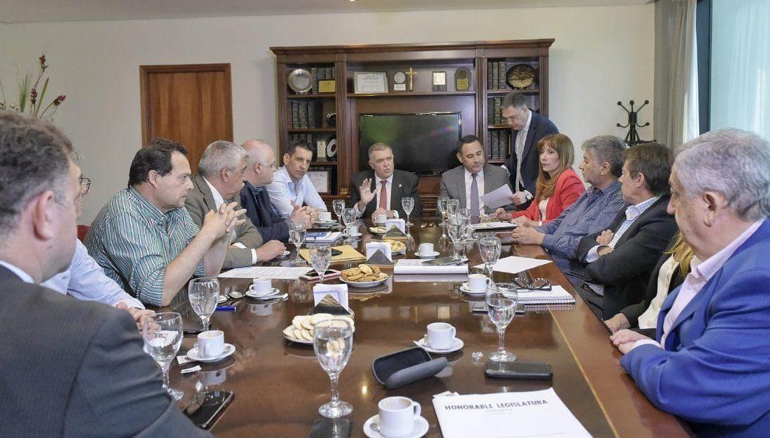 Osvaldo Jaldo participó de la reunión de Labor Parlamentaria