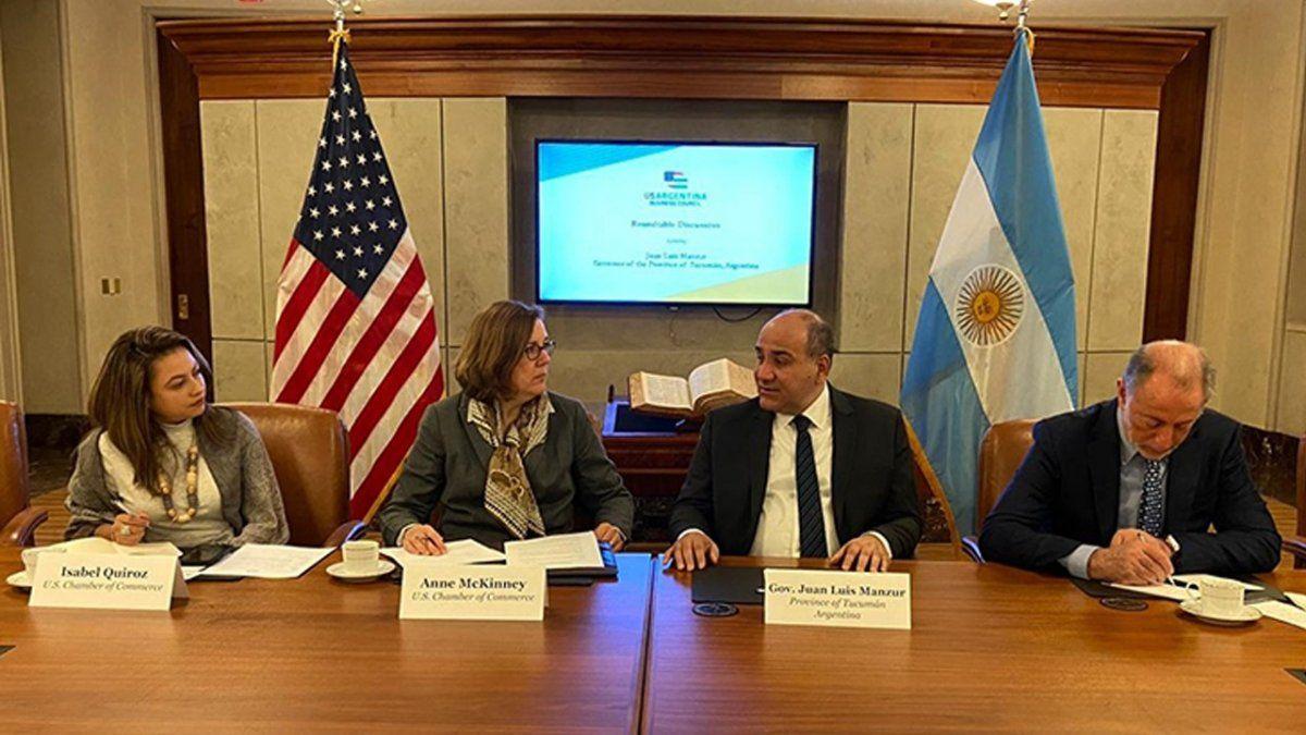 Tucumán estrecha lazos comerciales con Estados Unidos