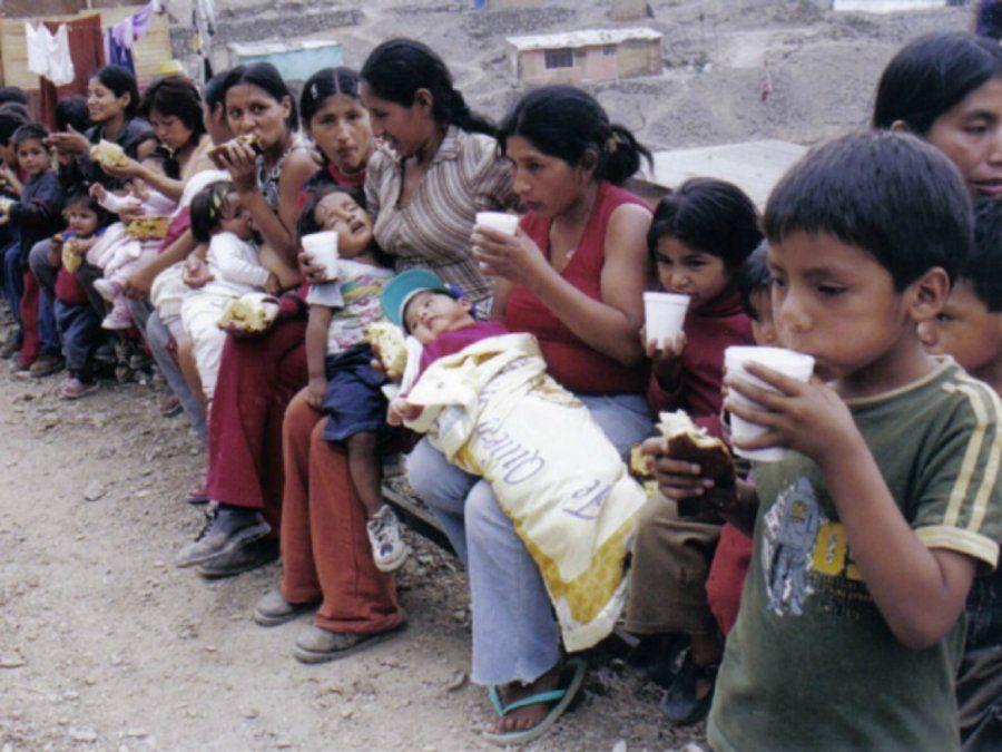 Alarmante: Creció el número de personas que sufren hambre
