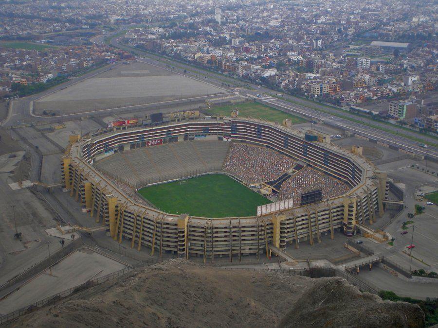 El Estadio Monumental de Lima