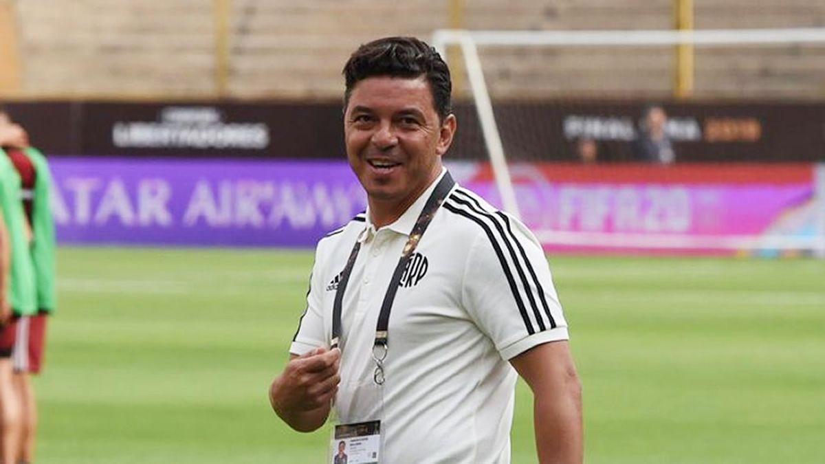 Gallardo confirmó el equipo de River para enfrentar a Flamengo