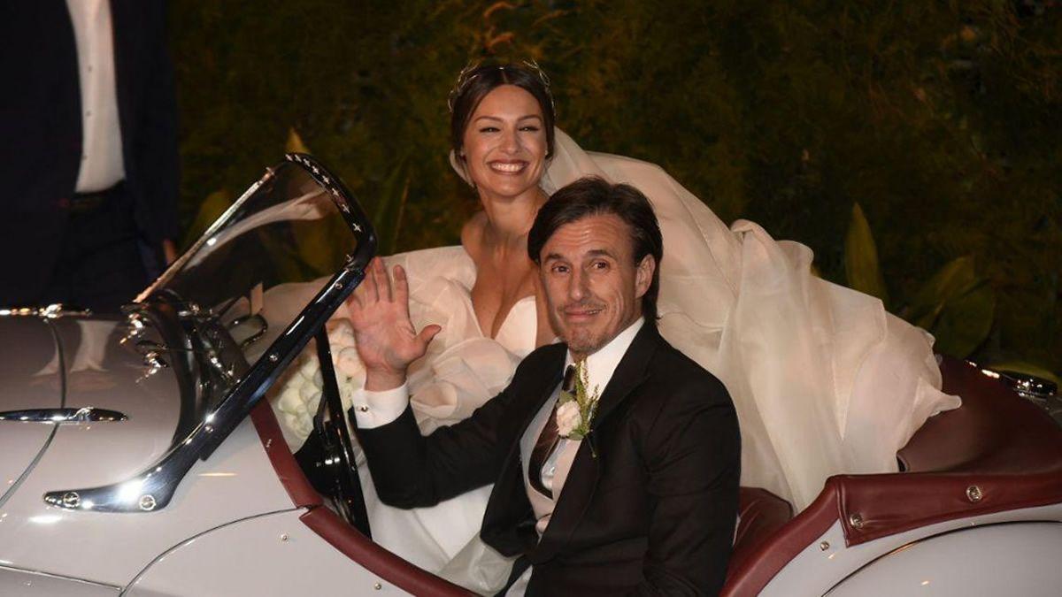 ¡Sí, quiero! Pampita y Roberto García Moritán se casaron