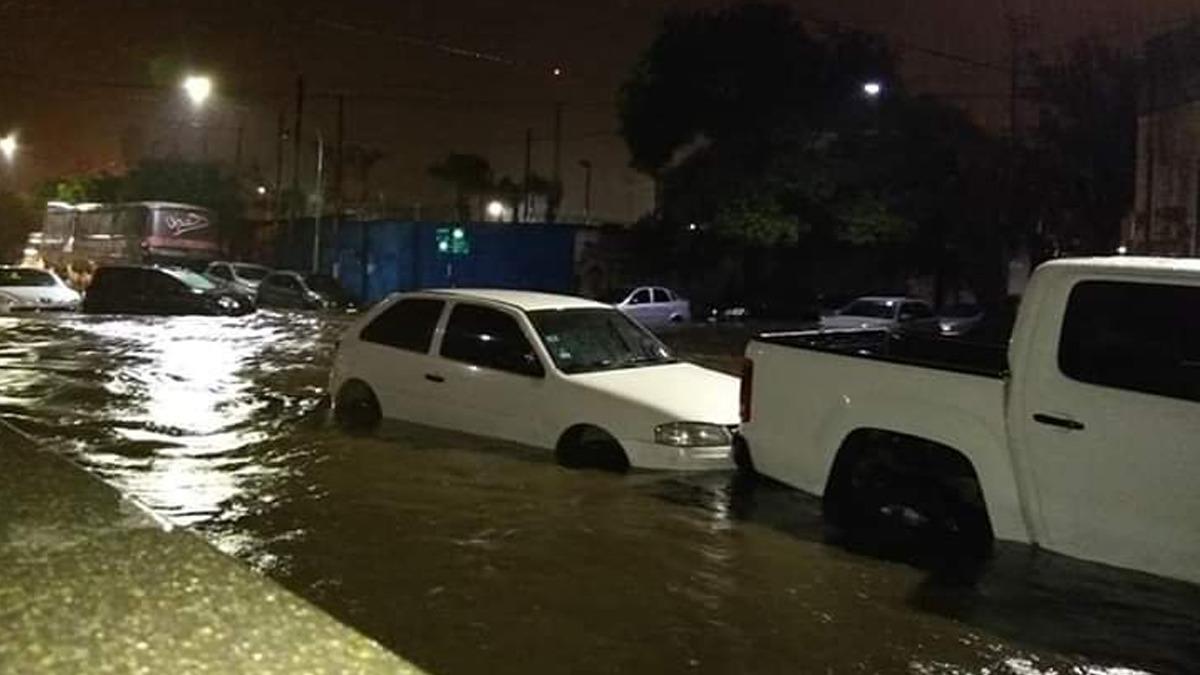 Las intensas lluvias se hicieron sentir en Tucumán