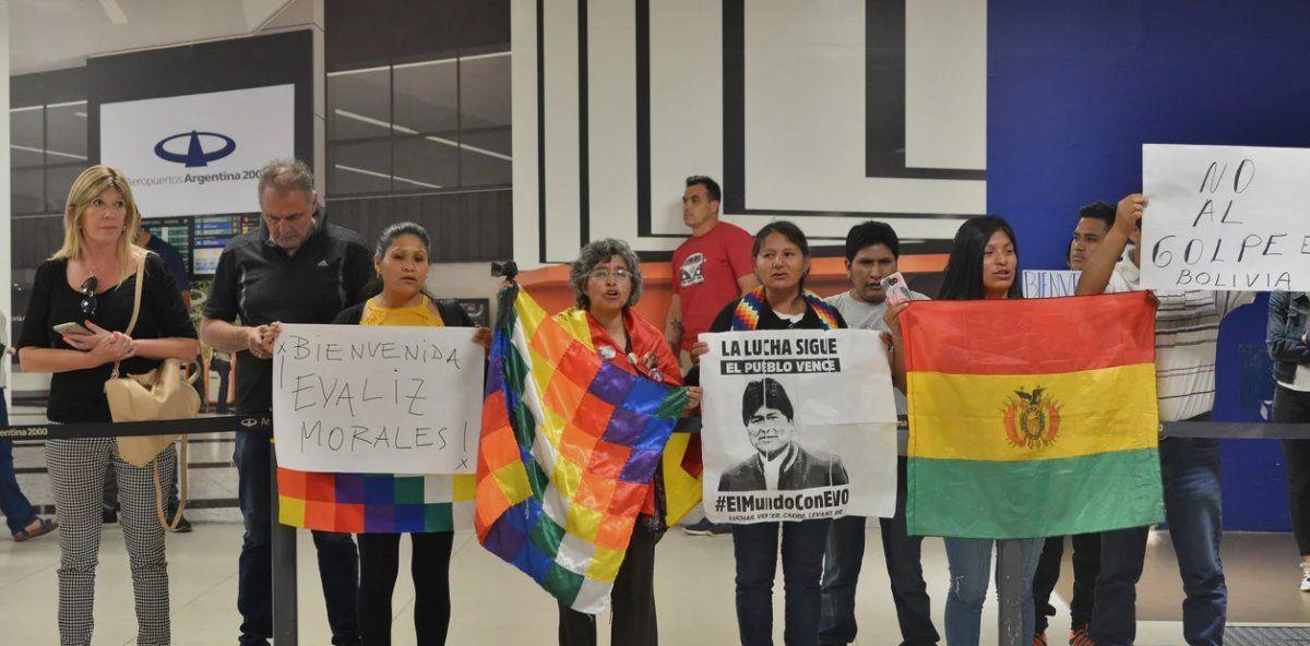 Llegaron los hijos de Evo Morales a la Argentina
