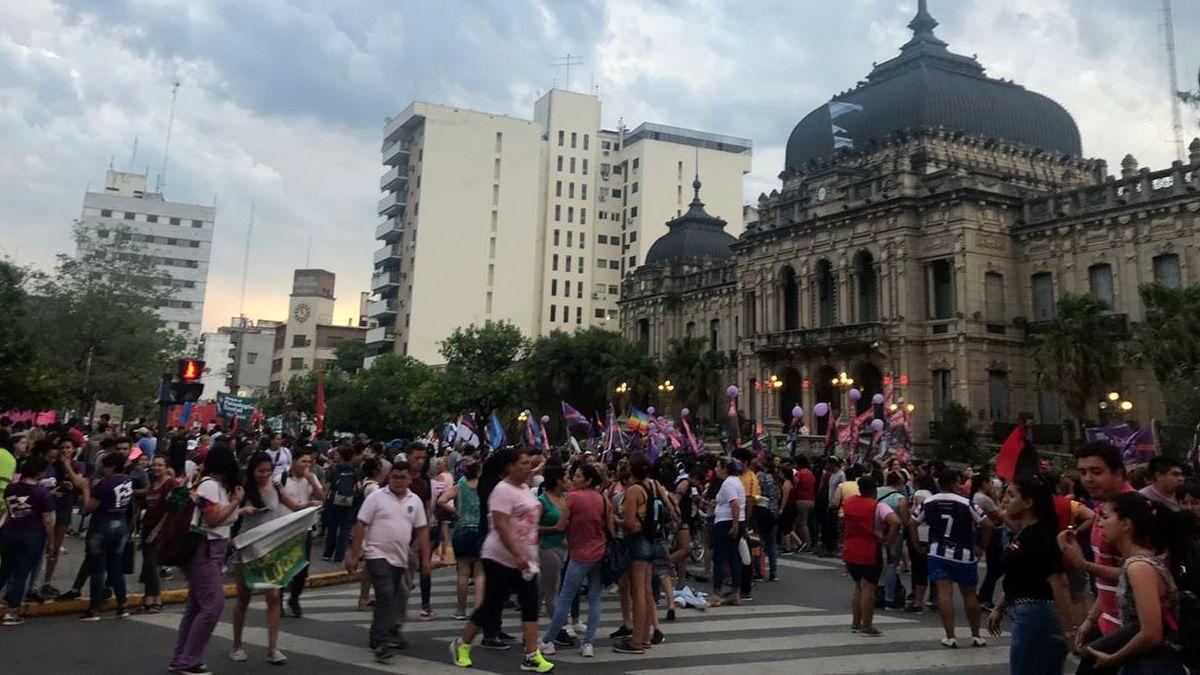 Tucumán marchó por el Día de la No Violencia hacia las Mujeres