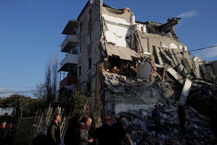 El terremoto de Albania en imágenes