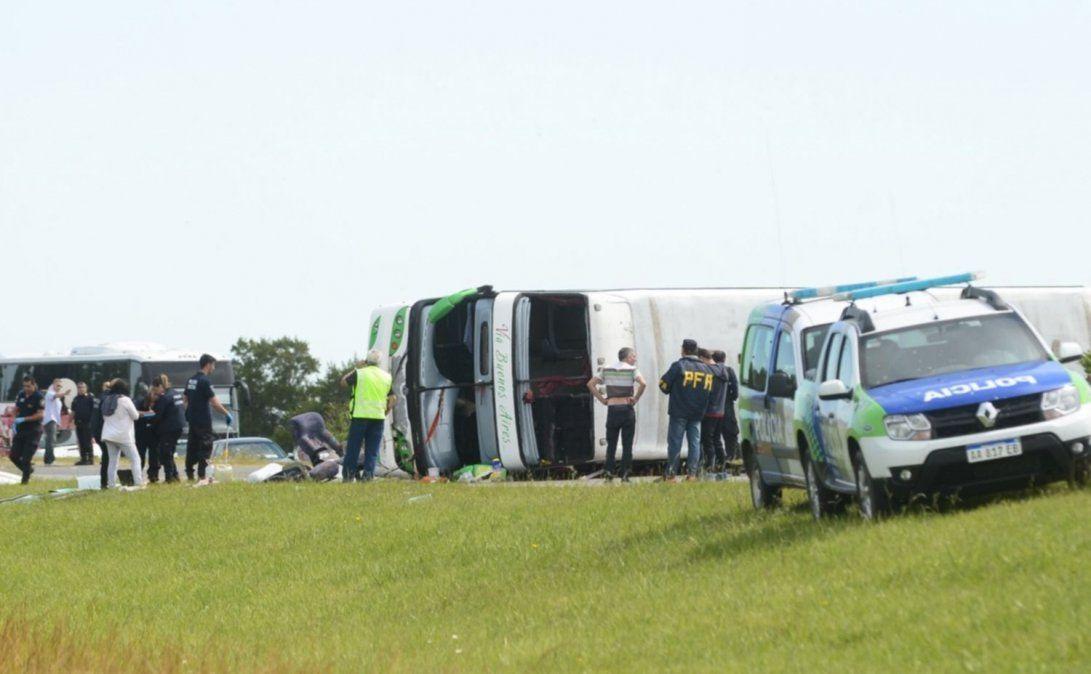 El accidente fue en la localidad bonaerense de Lezama.