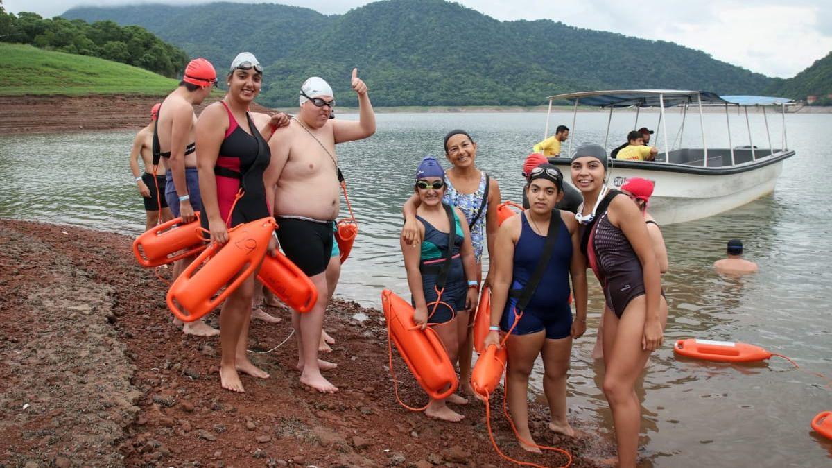 Nadando por la Inclusión conjugó alegría y emoción