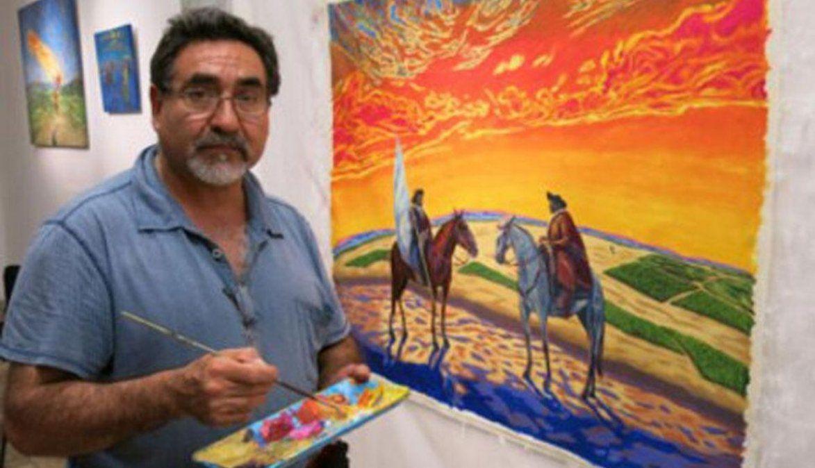 VictorQuiroga es uno de los máximos exponentes de la pintura tucumana.