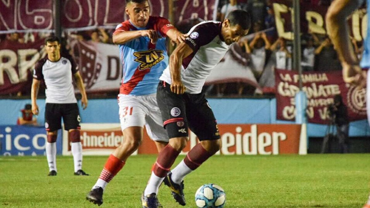 Arsenal y Lanús quedaron a mano en Sarandí