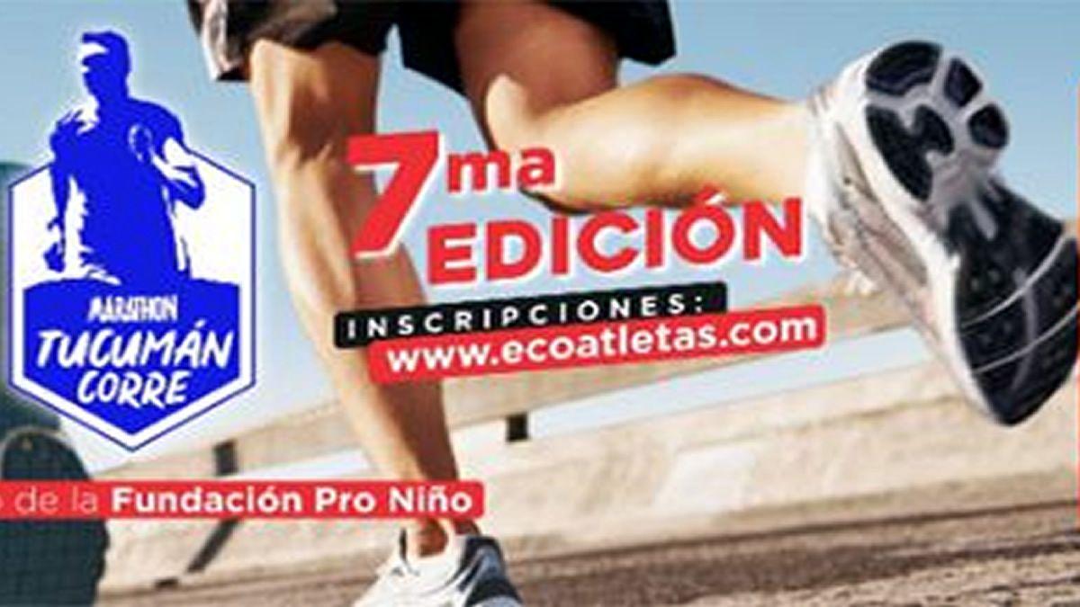 Se viene una nueva edición de la Marathon Tucumán Corre