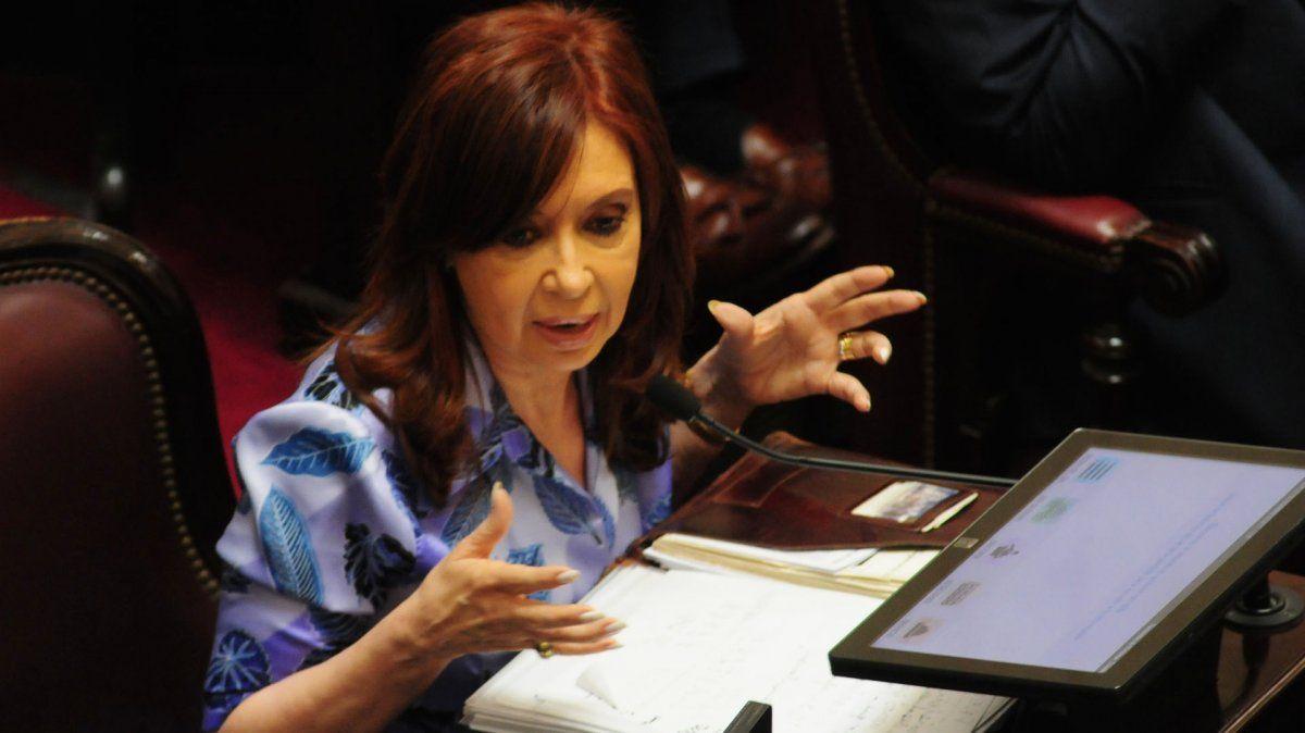 Cristina se reúne con senadores del Frente de Todos