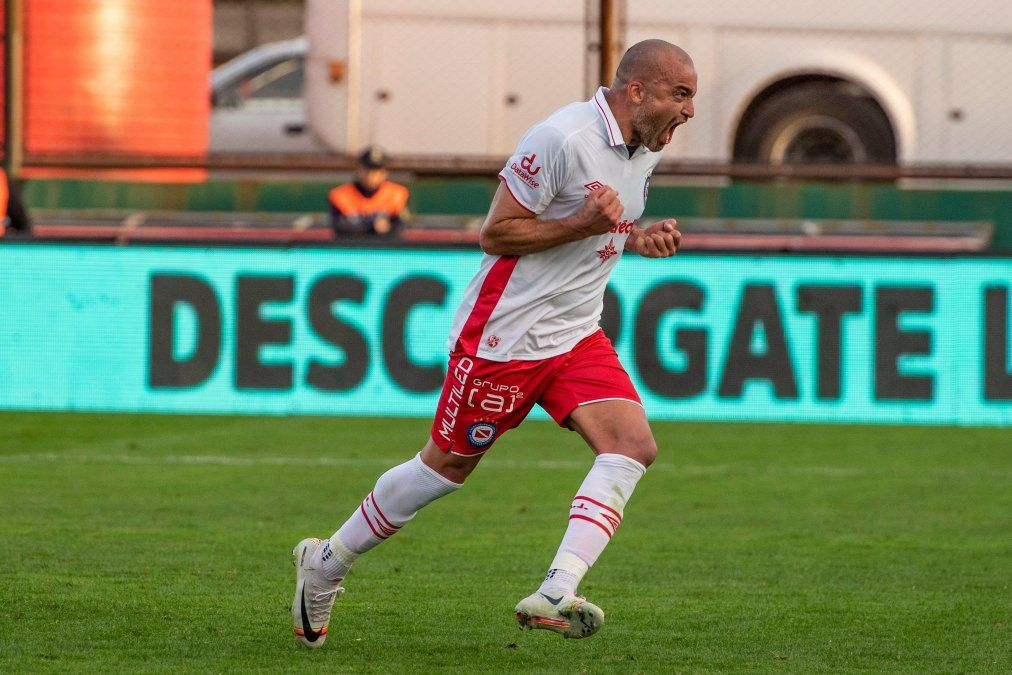 Silva no gritó el gol en la Bombonera.