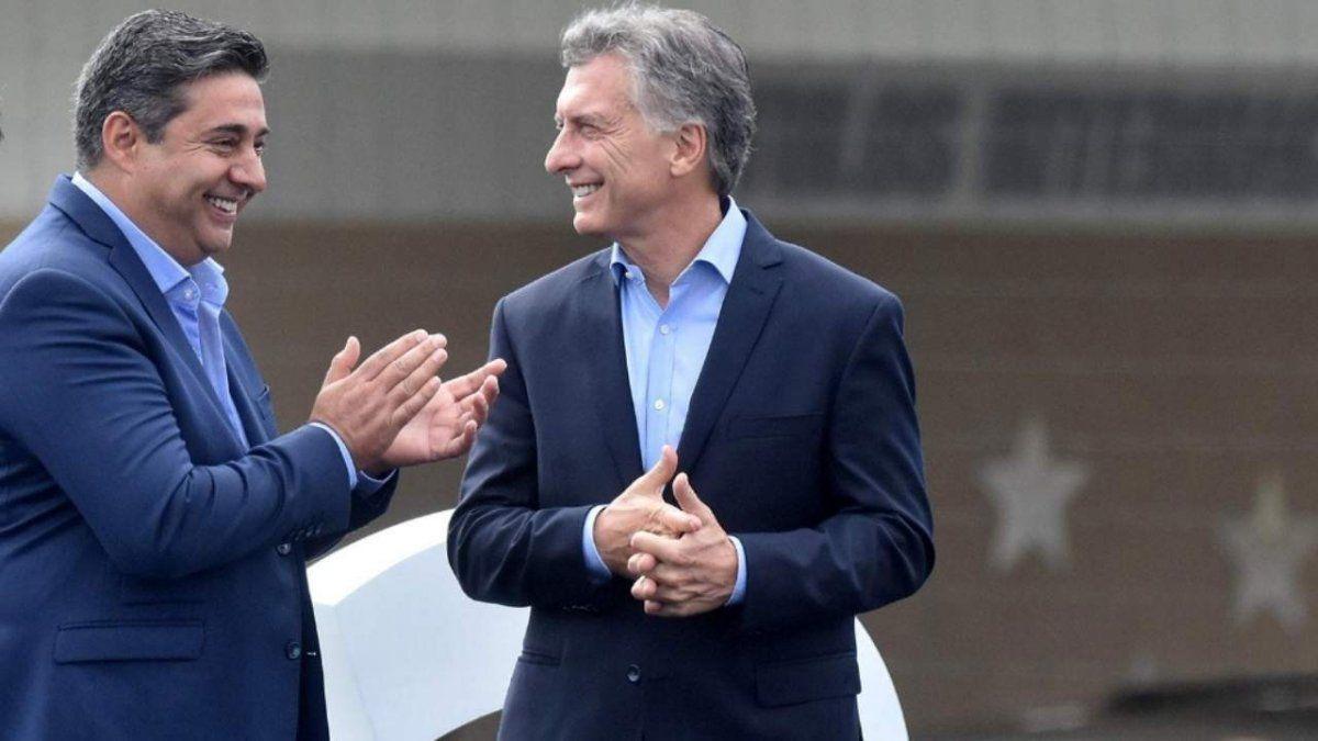 Mauricio Macri mira con buenos ojos la gestión de Angelici.