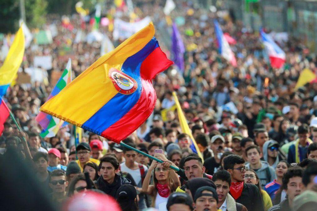 Colombia vive su tercera huelga nacional en contra de Iván Duque