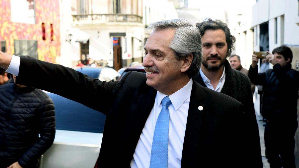 Alberto Fernández llevará su gobierno con los trabajadores
