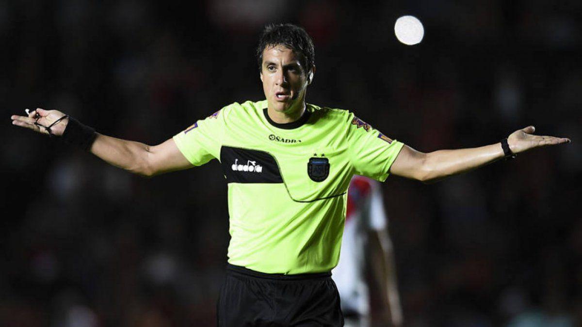 Pablo Echavarría arbitrará Atlético vs.Newells.