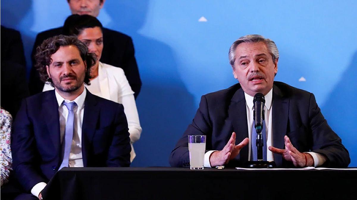 Fernández afirmó que ya están trabajando con el Fondo Monetario