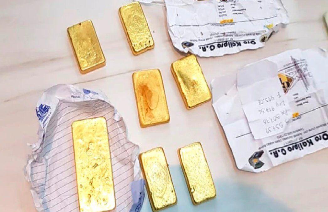 Cayó una banda que contrabandeaba oro