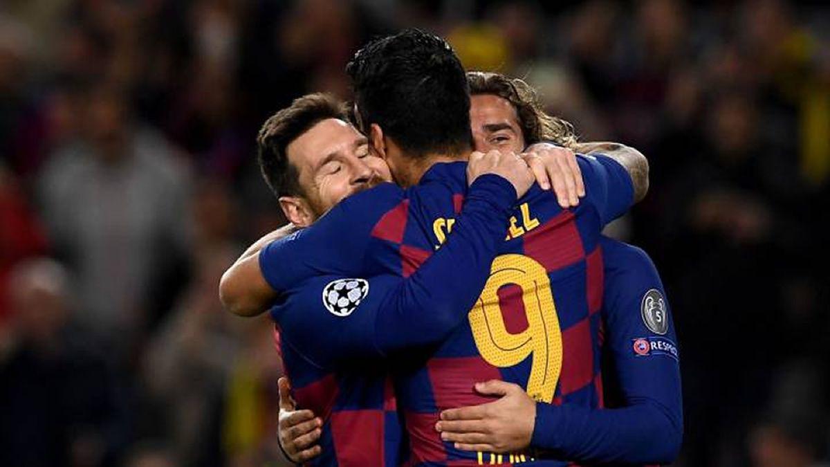 Messi anotó un hat-trick para el triunfo del Barcelona