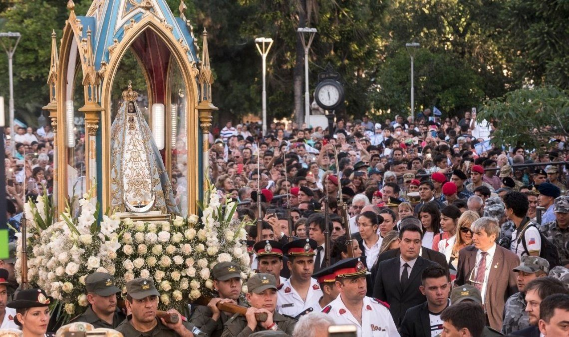 Culminan las fiestas en honor a la Virgen del Valle
