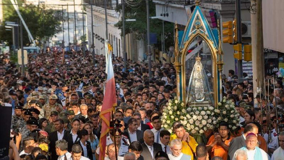 Culminaron las festividades en honor a la Virgen del Valle