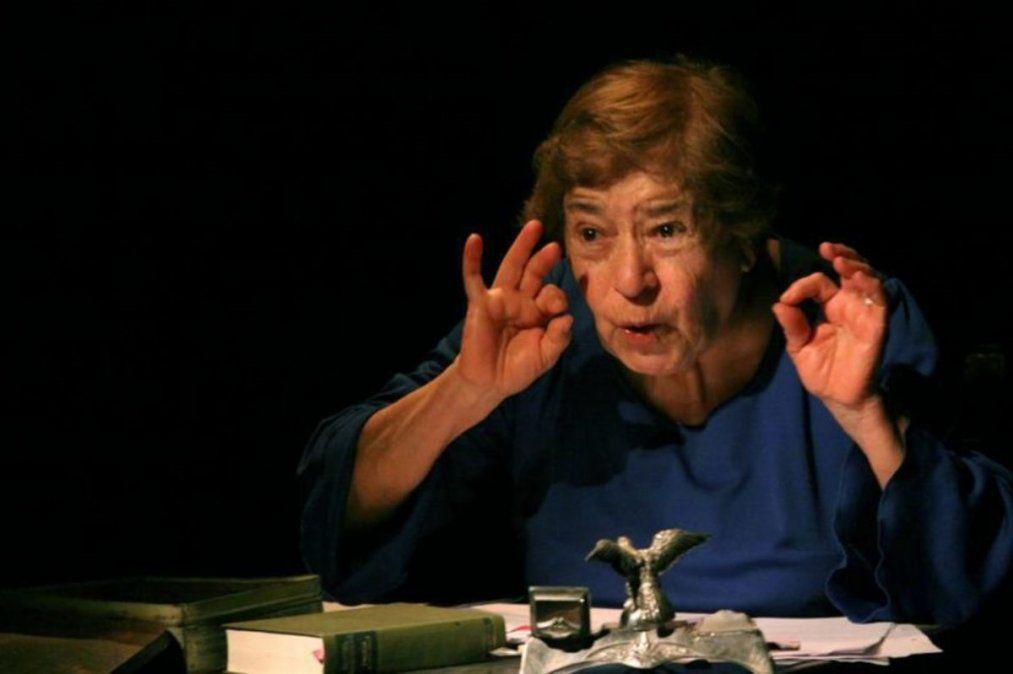 Murió Rosita Ávila: fue una gran luchadora del teatro independiente