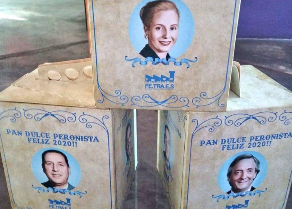 Venden en Plaza de Mayo y el Congreso el pan dulce peronista