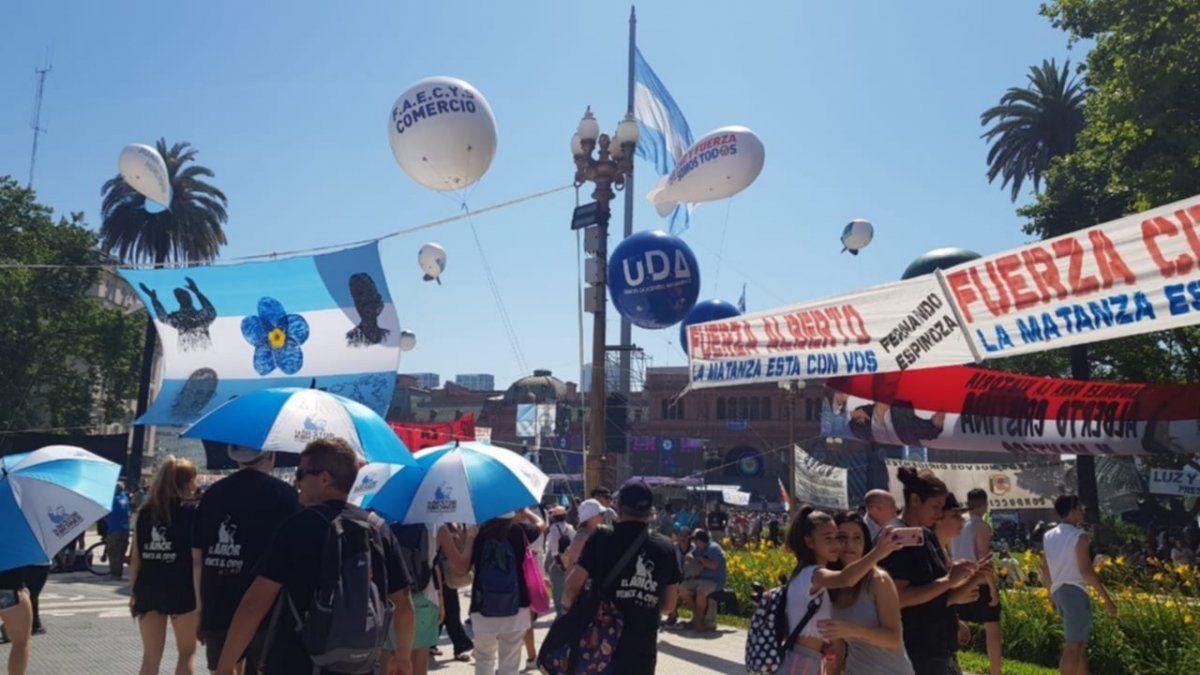 EN VIVO: Festival en Plaza de Mayo tras la asunción de Fernández