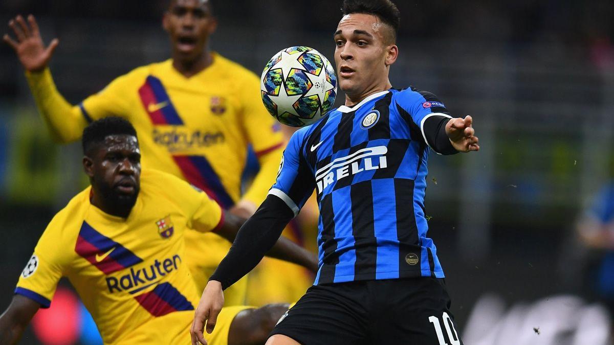Inter cayó 2 a 1 ante Barcelona y quedó eliminado
