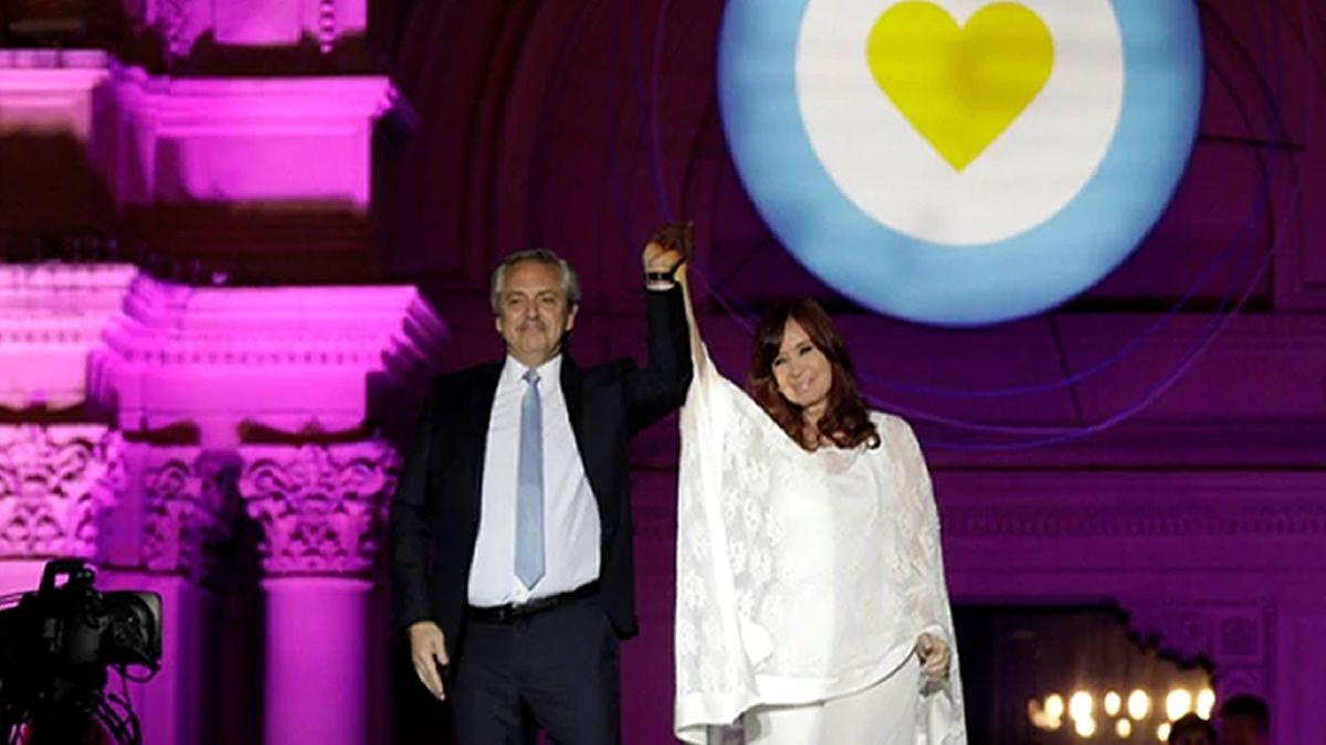 Estamos unidos por una Argentina de pie, nunca más vamos a dividirnos
