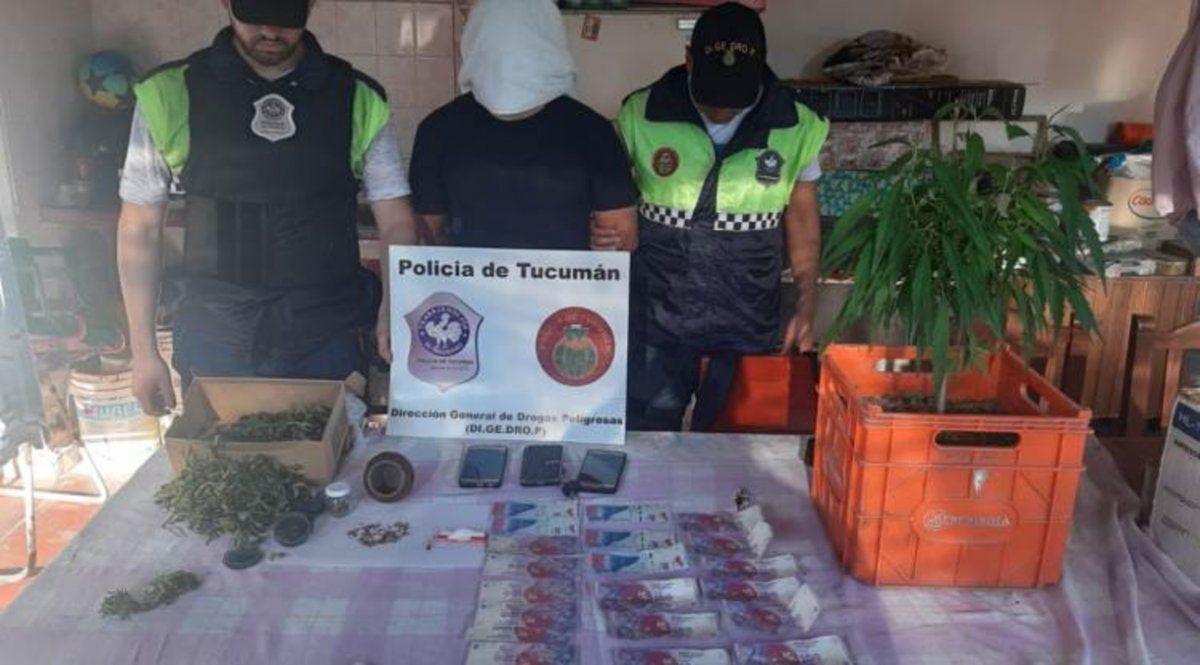 La Policía secuestró armas y droga en ciudades del sur