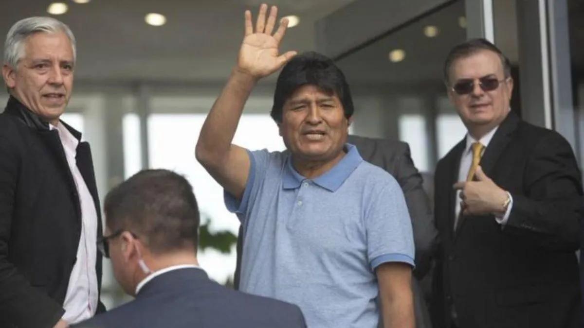 Evo Morales se manifestó contra Jeanine Áñez