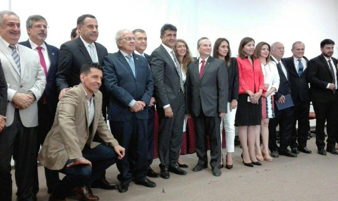 Walter Soria asumió en la UTN con el acompañamiento de Jaldo